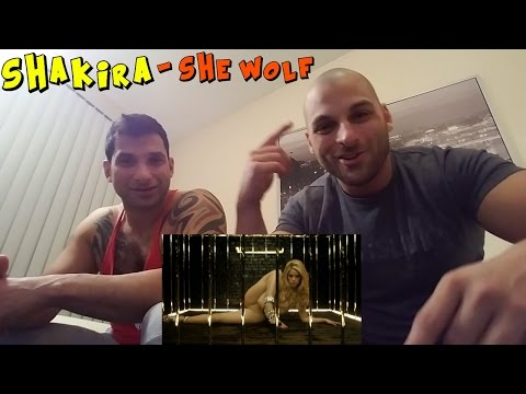 SHAKIRA - She Wolf [REACTION]