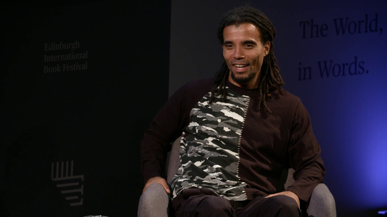 Akala at the Edinburgh International Book Festival