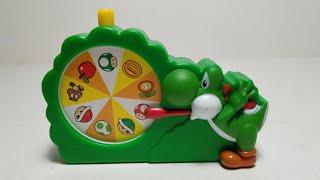 Щасливий 4К Супер Маріо 2018 Макдональдс іграшка їжі #6 Йоші Бінго Розпакування та огляд