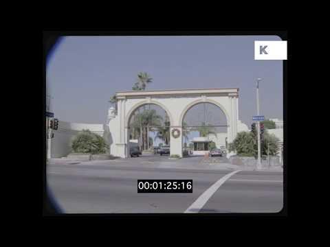 Paramount Studios, 1980s Hollywood, Los Angeles, HD