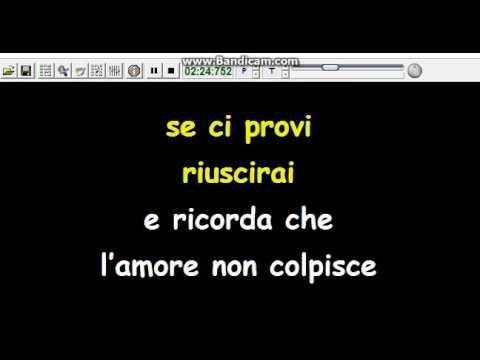 """Karaoke """"Ermal Metal"""" Vietato Morire (San Remo 2017)"""