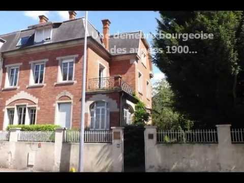 maison bourgeoise a vendre sans frais d agence Rebberg Mulhouse