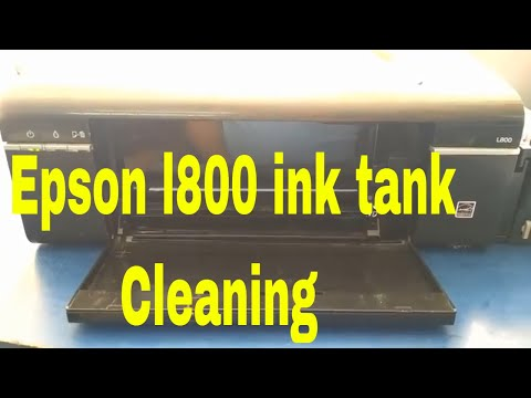 Epson l800 ink tank cleaning