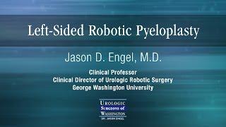 Left Sided Robotic Pyeloplasty