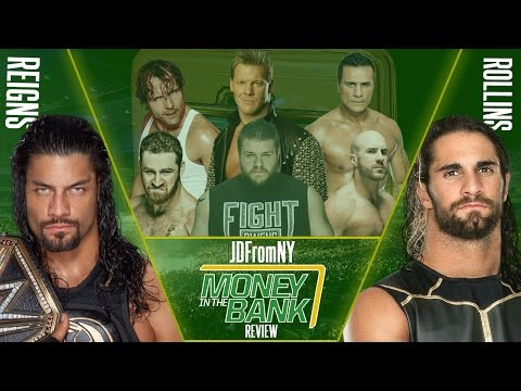 WWE Money In The Bank 2016 6/19/16 Review & Results