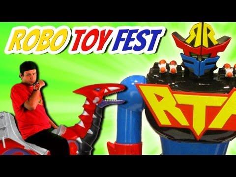 ROBO TOY FEST! (5.5.13) Power Ranger Toys!