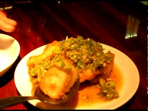 0 Chinese Restaurant, China House   Fried Wolf Fish