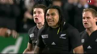 All Blacks Haka vs Japan Rugby World Cup 2011