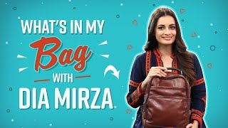 6024aedee1 What s in my bag with Dia Mirza