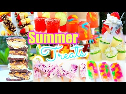 12 TREATS YOU NEED TO TRY THIS SUMMER   DIY!