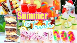 12 TREATS YOU NEED TO TRY THIS SUMMER | DIY!