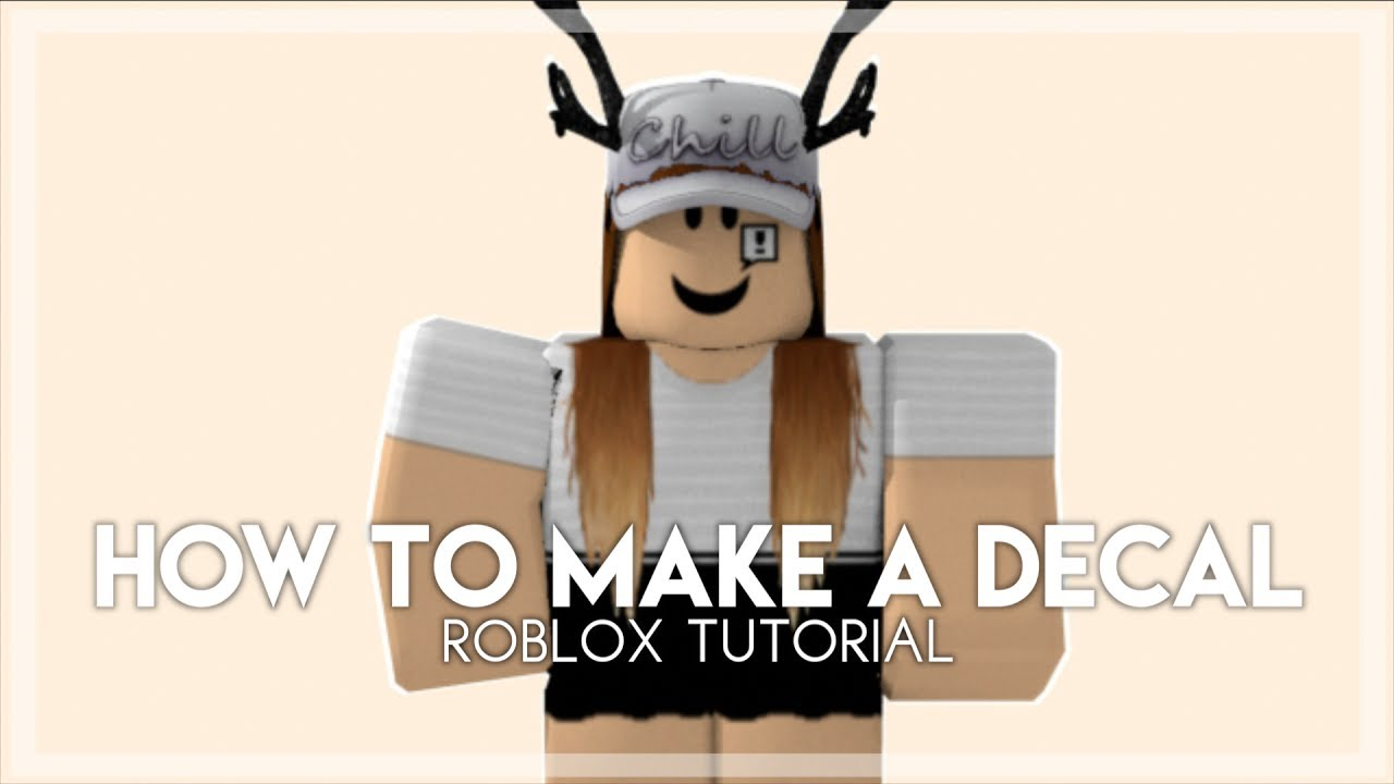How To Make A Decal Roblox Tutorial - roblox play button decal