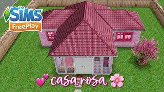 CASA ROSA SpeedBuild The Sims FreePlay