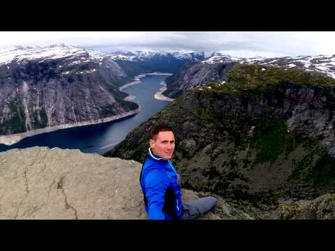 Trolltunga - Odda - Hordaland / selfie lvl expert GoPro