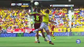 Colombia 2 Venezuela 0 Eliminatorias Sudamericanas Rusia 2018