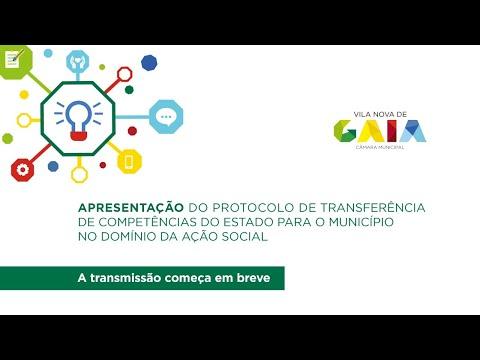 Apresentação do protocolo de transferência de competências do estado para o município