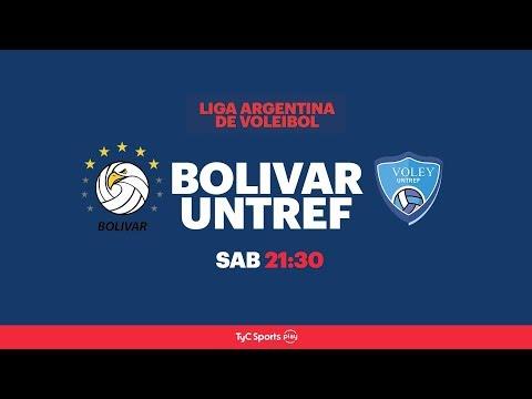 Liga Argentina: Personal Bolívar vs. UNTREF l #VoleyEnTyCSports