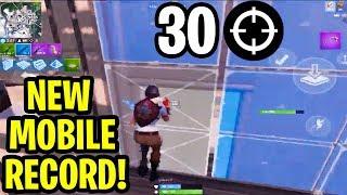 *INSANE* NEW MOBILE WORLD RECORD 30 Kills Solo Squads! (Jeshon) Fortnite Highlights
