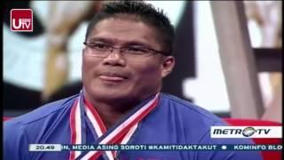 Kick Andy Binaraga Berprestasi Di Kejuaraan Arnold Classic - 15 Januari 2016