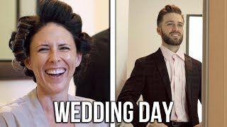 Download Getting Ready on Our Wedding Day!!! Part 1 (bring tissues) Mp3 and Videos