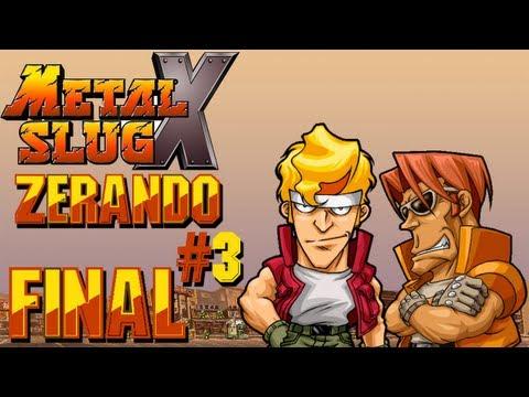 Metal Slug X - Zerando o Jogo #3 / Missão 5 e 6 / Final Boss / Fim da Série!!