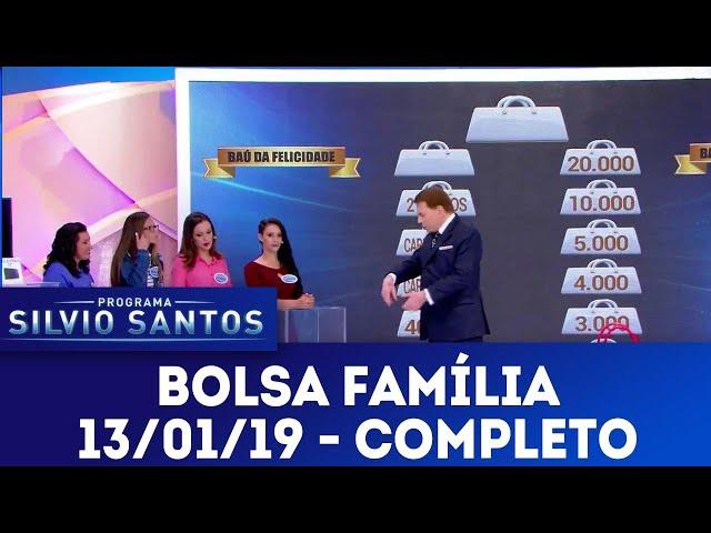 Bolsa Família - Completo | Programa Silvio Santos (13/01/19)