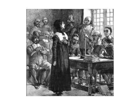 Colonial Period-Anne Hutchinson