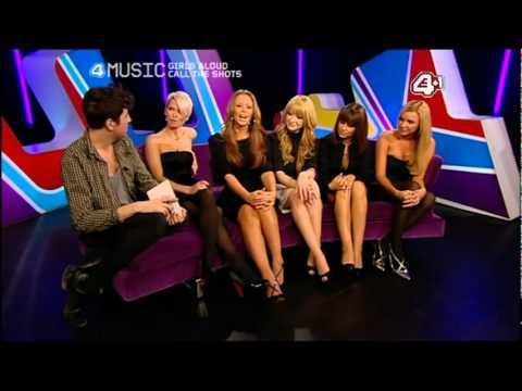 Girls Aloud : Interview (4Music 2007)