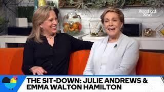 "Julie Andrews & Daughter Emma Walton Hamilton Talk About Writing New Book ""Home Work"""