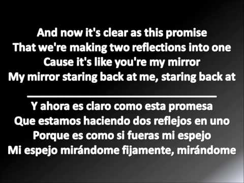 Justin Timberlake - Mirrors Letra en Español e Ingles 2013 (Lyrics English and Spanish)