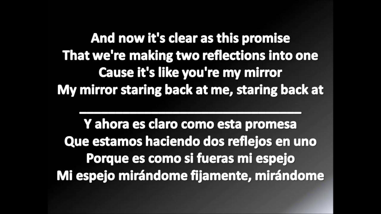 Letra de la cancion let me love you en español e ingles