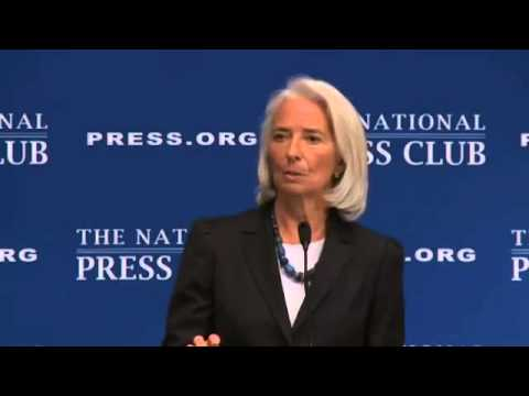 Christine Lagarde on The Global Economy  {Full Speech}