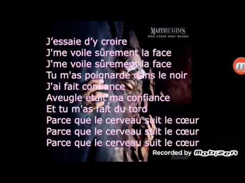 MAITRE GIMS Brisée ( Parole - Audio )