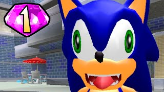 YOU'RE GONNA CRASH. AHH. | Sonic Adventure DX #1