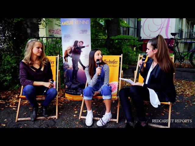 AMELIE RENNT - Interview mit Mia Kasalo und Susanne Bormann