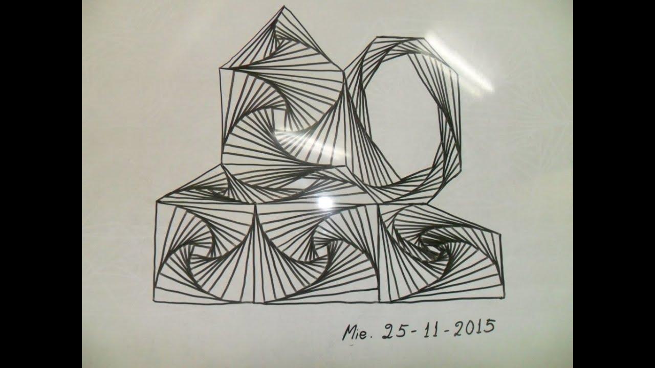 Como crear dibujos abstractos con figs geom tricas for Imagenes de cuadros abstractos faciles de hacer