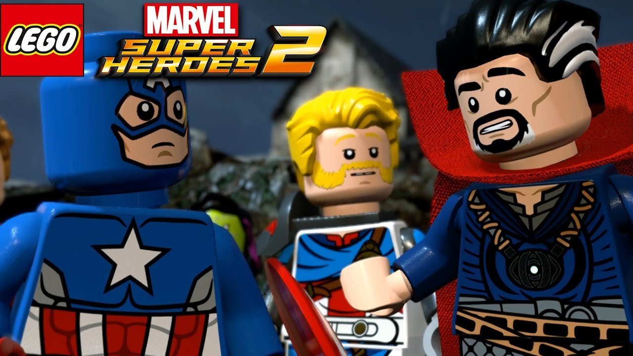 Lego Marvel Super Heroes 2 Avengers Team Castle Hassle Gameplay