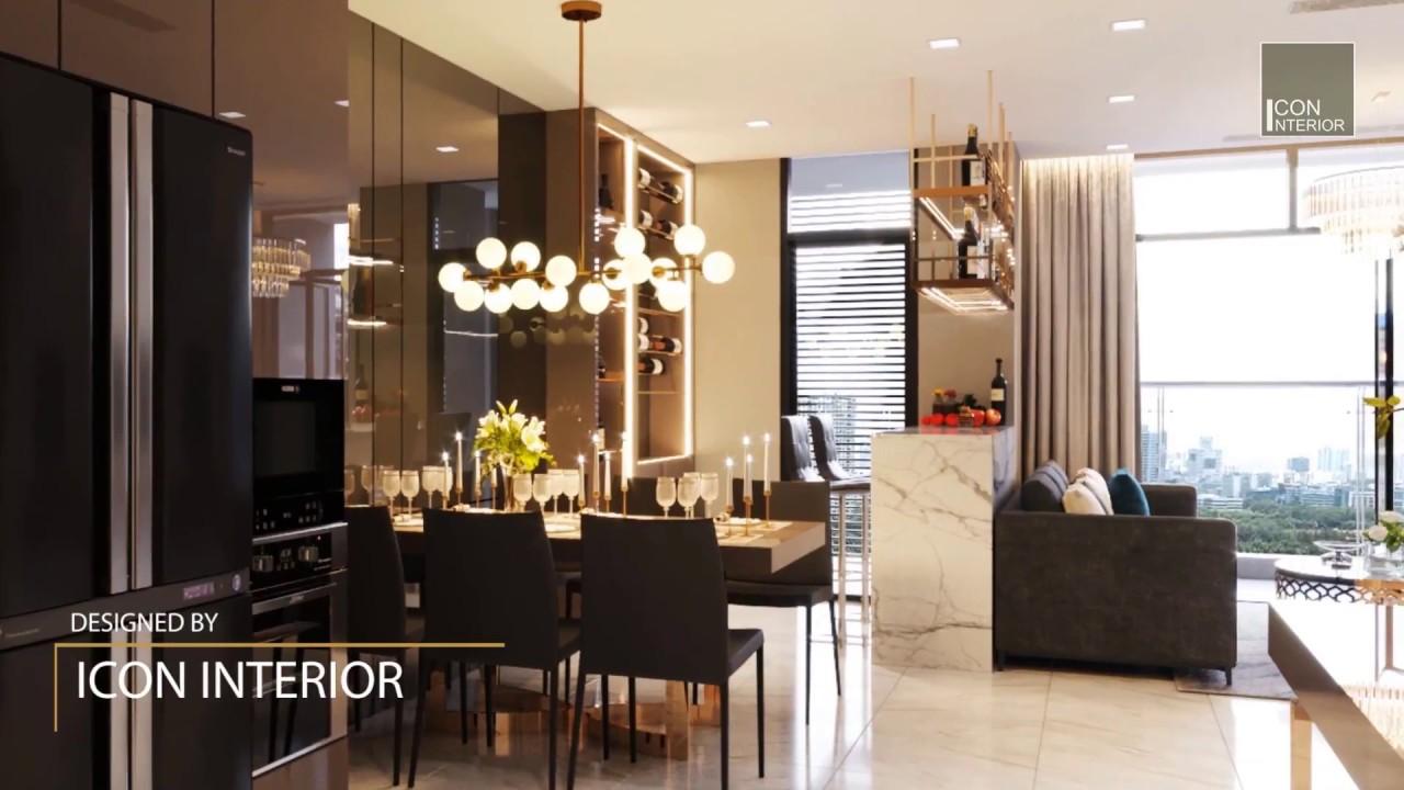 Thiết kế nội thất hiện đại căn hộ cao cấp Vinhomes Central Park