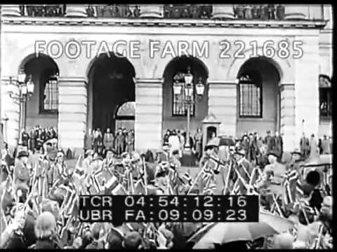 Four Powers Signing Germany Occupation; Berchtesdaden and more 221685-07 | Footage Farm