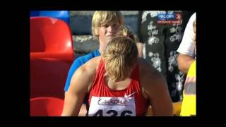 Javelin Women Final (Russian Championship in Athletics 2011, Cheboksary)