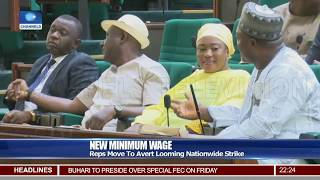 New Minimum Wage: Reps Ask Buhari For Tripartite Agreement For Consideration