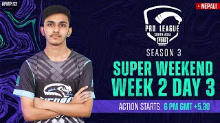 [NEPALI] 2021 PMPL South Asia SW2D3 | S3 | Can it be a Hattrick for Mongolia's Zeus Esports?