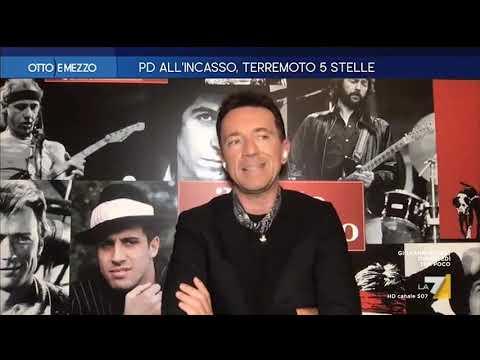 """Andrea Scanzi: """"Tra Zaia e Salvini non c'è partita. Preoccupante il consenso della Lega in Toscana"""""""