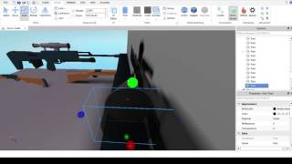Roblox speed build of Barret 50 Cal
