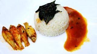 Lanka Pata & Moye Macher Jhol   Chili Leaf & Fish Curry Recipe   Bangali Style Fish Curry Recipe