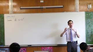 Chain Rule (1 of 3: Introducing a substitution)
