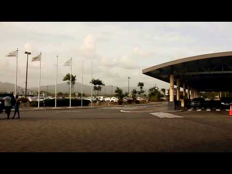 Drive to Piarco International Airport going back to NYC