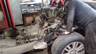 Замена двигателя ленд ровер дискавери 4