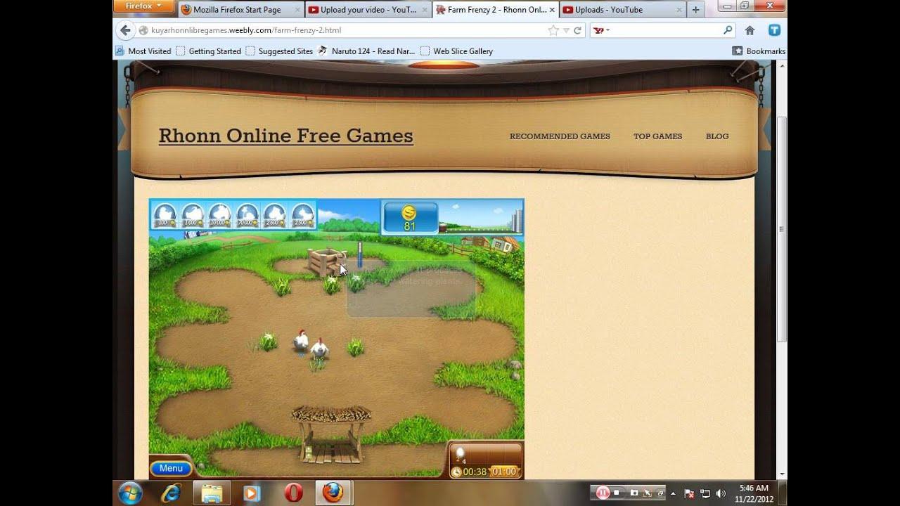 Farm Frenzy 2anne 28 online, free Games