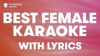 MEGA HITS: BEST FEMALE KARAOKE WITH LYRICS 💖 LORDE, BEYONCE, JESSIE J, TAYLOR SWIFT, ADELE, RIHANNA